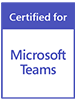 Microsoft Teams Certified